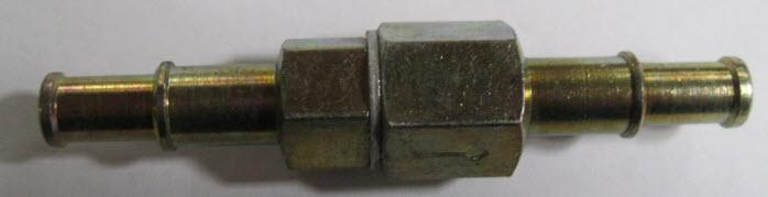 Benzine terugslagklep voor slang 6-8mm