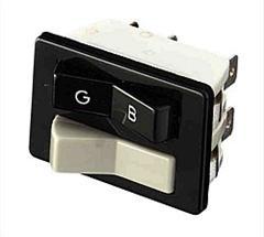 Switch Petrol/LPG + choke horizontal