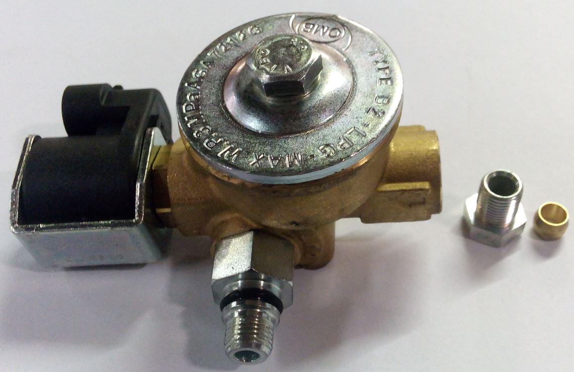Gasafsluiter PRINS 6 mm NIEUW