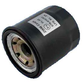 Filter zwart, te schroeven (lijkt op oliefilter), voor BRC