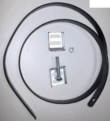Beugel licht voor motorhome voor bevestiging gasfles