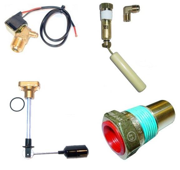 Accessoires pour réservoir  (4-trous), sans coffret (avec Valtek BFC électrovanne)