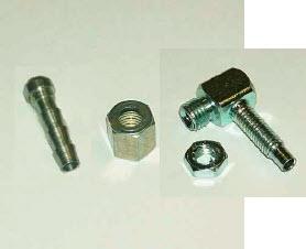 Kniestuk voor in collector naar gasslang 4mm (FE076287 +FE077244 +FE077245-2)