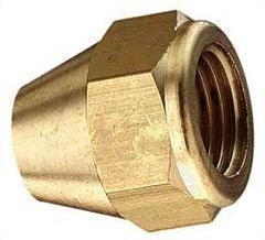 überwurfmutter 5/16SAE-5/16SAE für 6 mm Kupferleitung