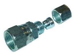 Verbinder 1/2 auf 8 mm Kupferleitung (Befüllventil 4-Lochtank)
