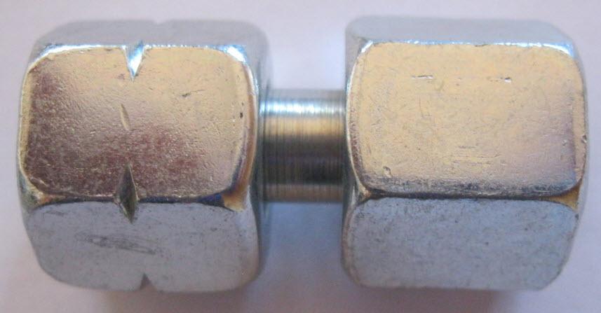 Verbinding G 1/4 Links x 8 mm moer