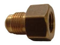 VerloaufStück kleine kraanAnschluß naar 8 mm (für MED-kraan: 7/16-20UNF x 5/16SAE)