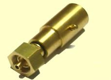 Nippel Bajonet op DIN - Adapter om propaanfles te vullen