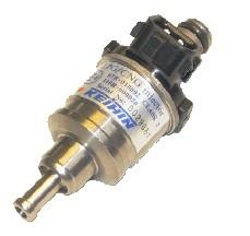 Enkele injector Keihin 73 cc/geel  KN8 (voor VSI-1 plastic rail)