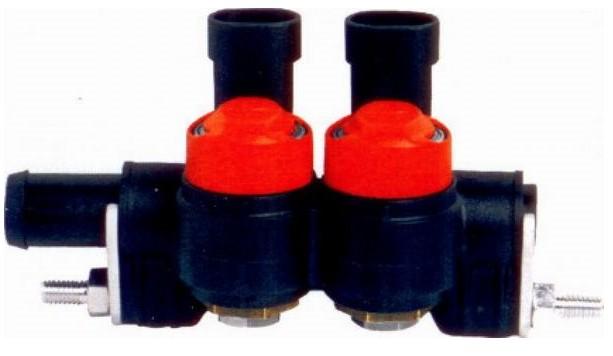 Valtek 2 cilinder rail type 34