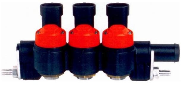 Valtek 3 cilinder rail type 34