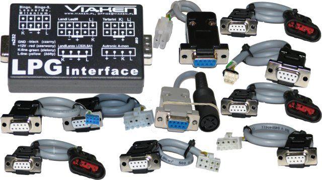 Kabelset 10 Kabel + 1 Interface universal