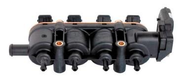 MED injector 4 cil. zwart