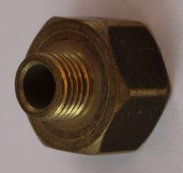 Schroefverbinding (binnendraad - buitendraad)20/150 x 1/4