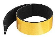 Moosgummi-Band selbstklebend, 30 x 5 mm, Preis pro M