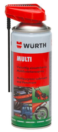 Multispray, 400 ml., Würth Cobra Head