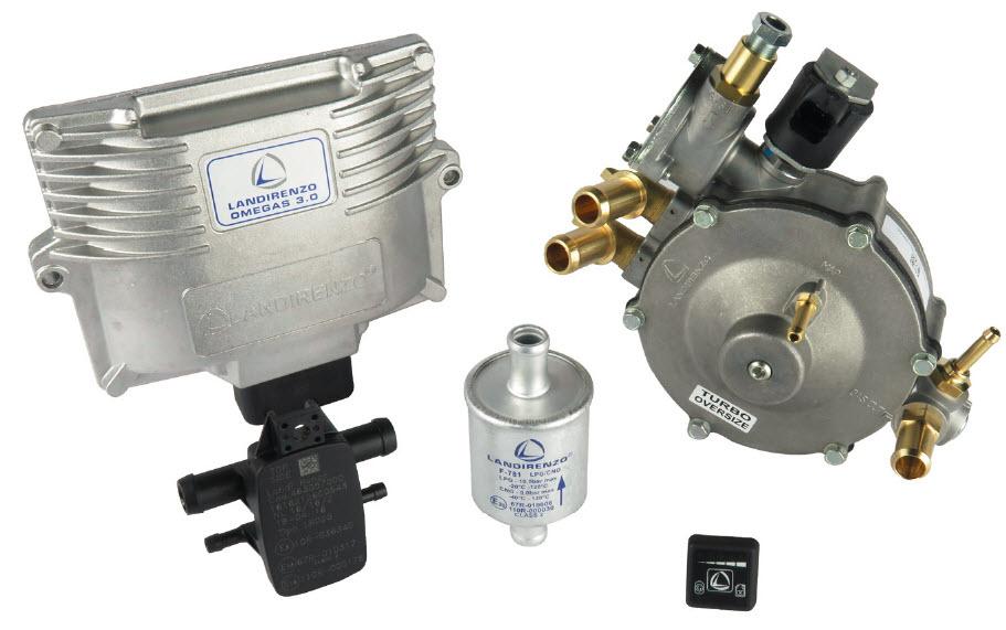 KIT LPG 5-6-8C.OMEGAS 3.0 - LI10M  - OBD (GIRS12 not included)