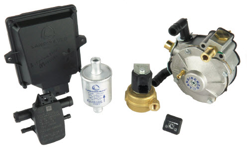 KIT LPG 4C.EVO LI02 including Rail - without nozzles and without water sensor