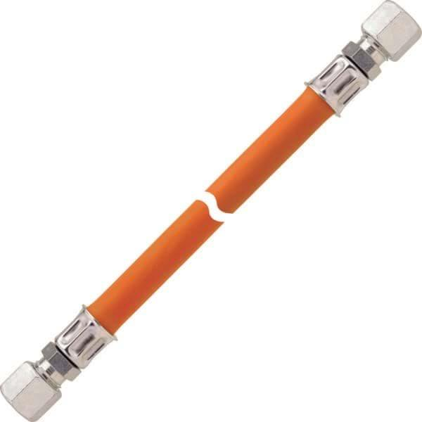 Gasslang 150 cm 8mm x 8mm (oranje)