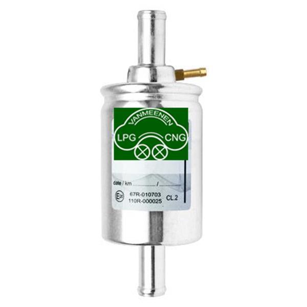 Drooggasfilter 12x12 + nozzle 5mm voor drukmeting