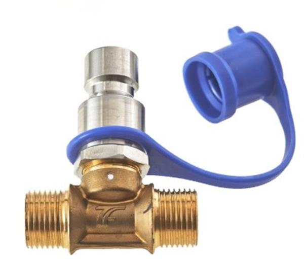 VM04 CNG manual T filling valve NGV1