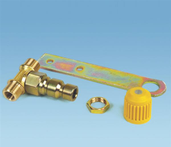 UNIVERSAL CNG COMPLETE FILLING VALVE EMER, ITALIAN-FOREIGN CODE VALC367