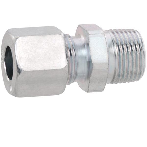 Rechte knelkoppeling 10mm x 1/2M GOK