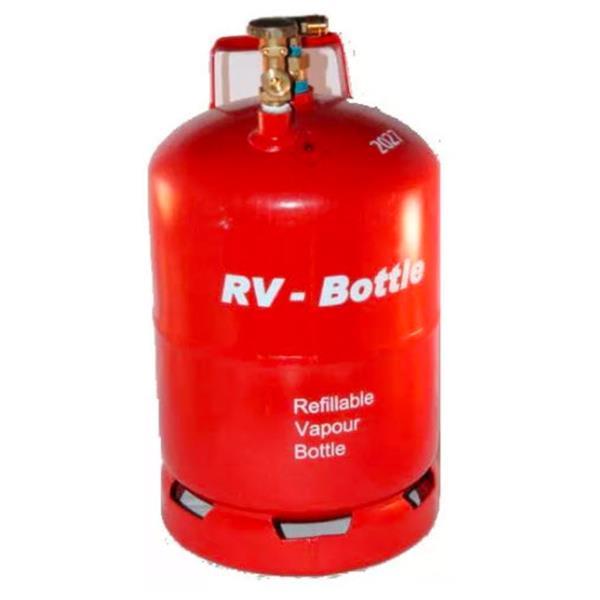 RV lichtgewicht LPG-fles 14,5ltr. 6kg