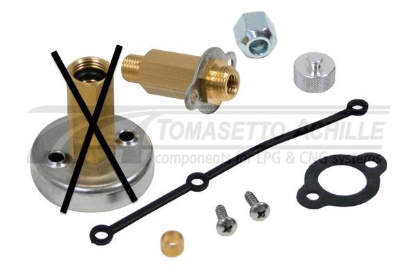 Tomasetto minivuller EXTRA (groot vermogen) zonder adapter