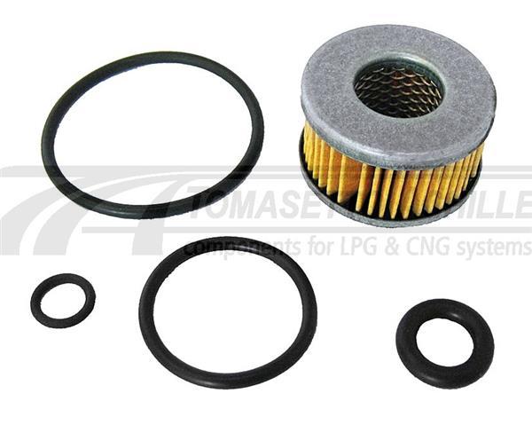 Filter kit Tomasetto gasafsluiter (h=20 D=35 d=8,5/16mm)