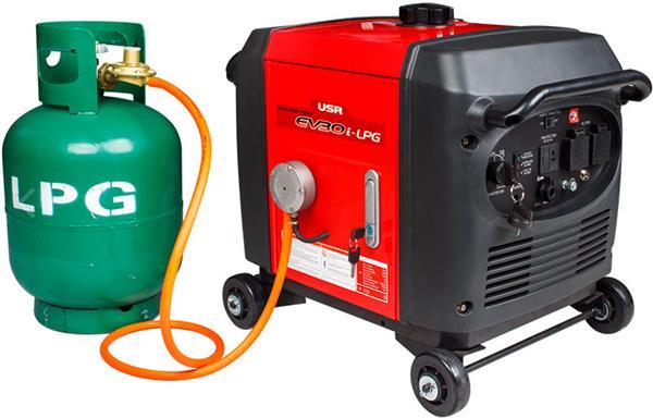 Inverter Digital Generator EV30i LPG 3000 Watt