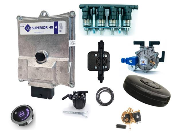 Full LPG-kit SsangYong Tivoli incl. tank