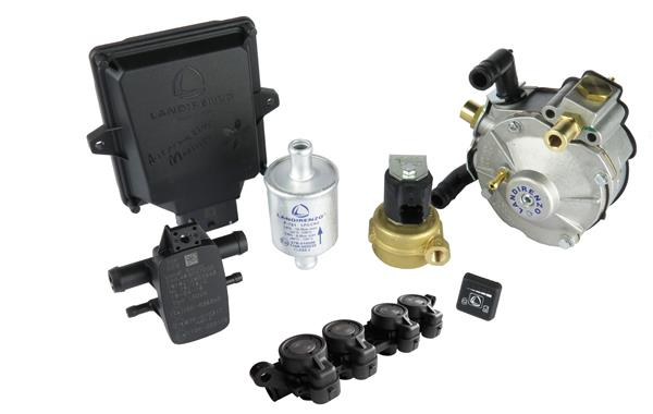 Minikit LPG 4C.EVO LI02 incl. rail AEB + verdamper LI02 (110KW) / zonder slangen, zonder leiding, zonder temp. sensor en zonder nozzles