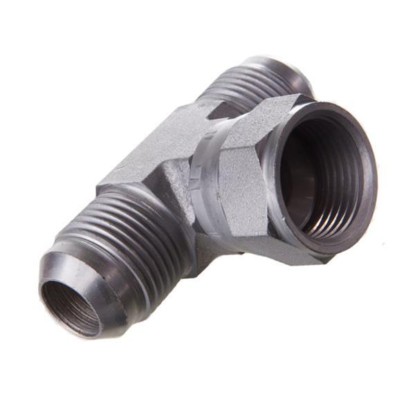 T-vulslang met wartel in het midden (staal)