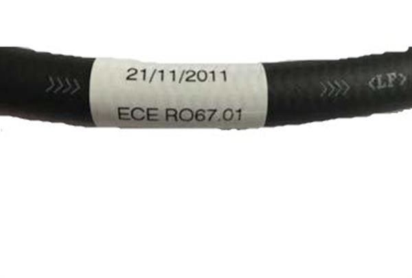 Label 67R01 voor XD-6