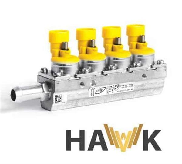 KME Hawk 4 cil. rail 1 Ohm
