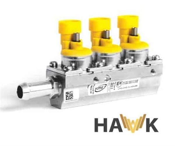 KME Hawk 3 cil. rail 1 Ohm