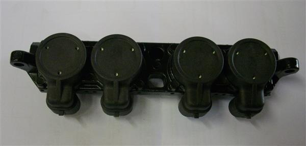 LPG injectoren boven aanzicht