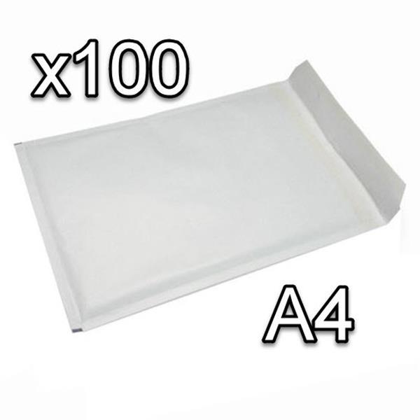 Doos met bubelenveloppen 100 stuks A4 220x340