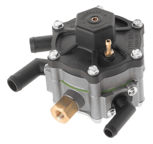 AC verdamper R02 inclusief afsluiter 110KW