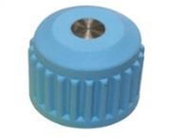 Plastic cap for NGV1 filling valves