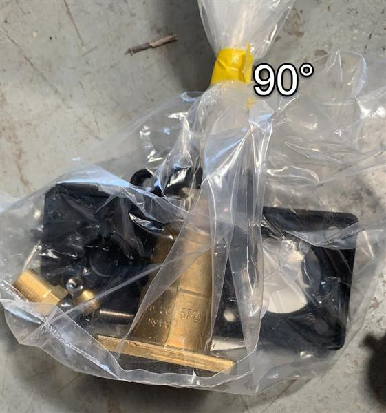 LPG buitenvuller plat haaks 8mm zonder vulnippel