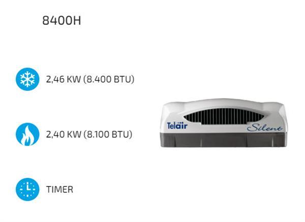 Specificaties Telair airco 8400H