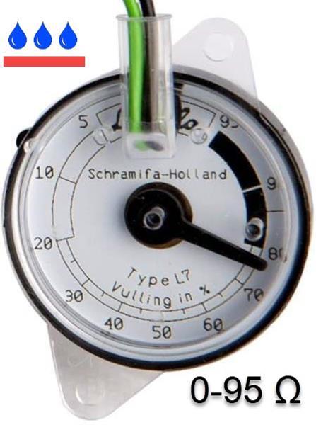 Zender 0-95 ohm - Livello waterdicht