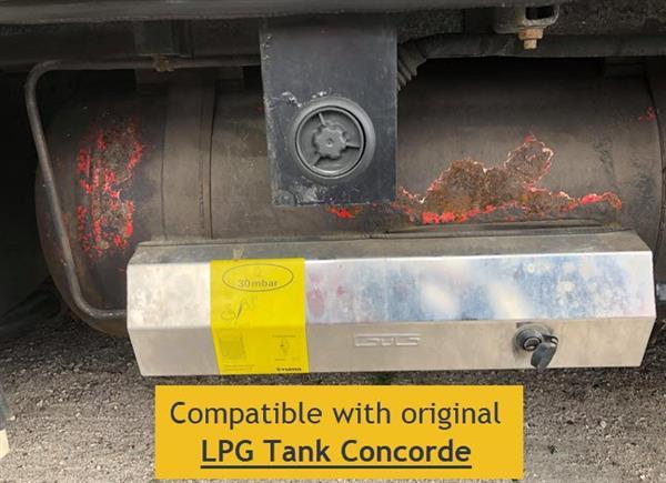 Compatibel met LPG tank Concorde diameter 400