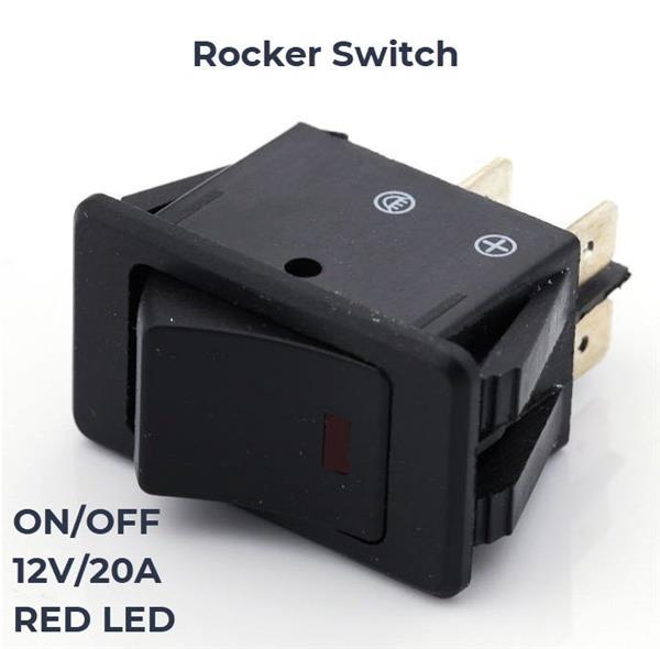 Schakelaar voor LED-aanduiding Livello