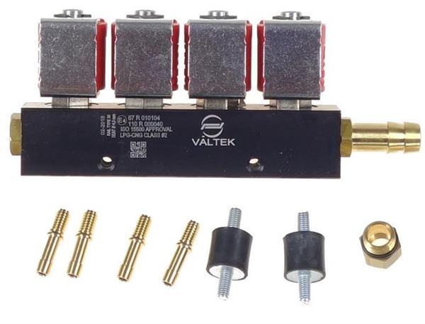 Rail VALTEK 4 cil., BFC, 3 Ohm, type 30