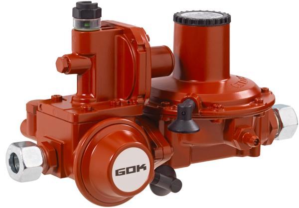 GOK ontspanner BHK052 12kg/h 50mbar RVS 15mm