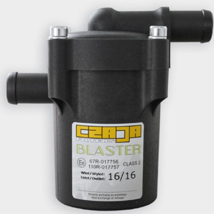 Drooggasfilter Blaster 12-14 (Ingang-Uitgang)