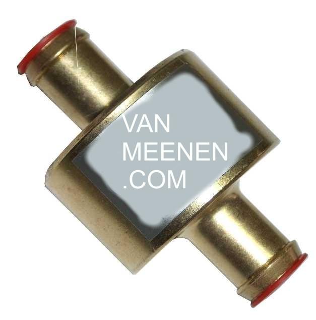 Drooggasfilter 16-16 (Koltec, Necam, AG) goud